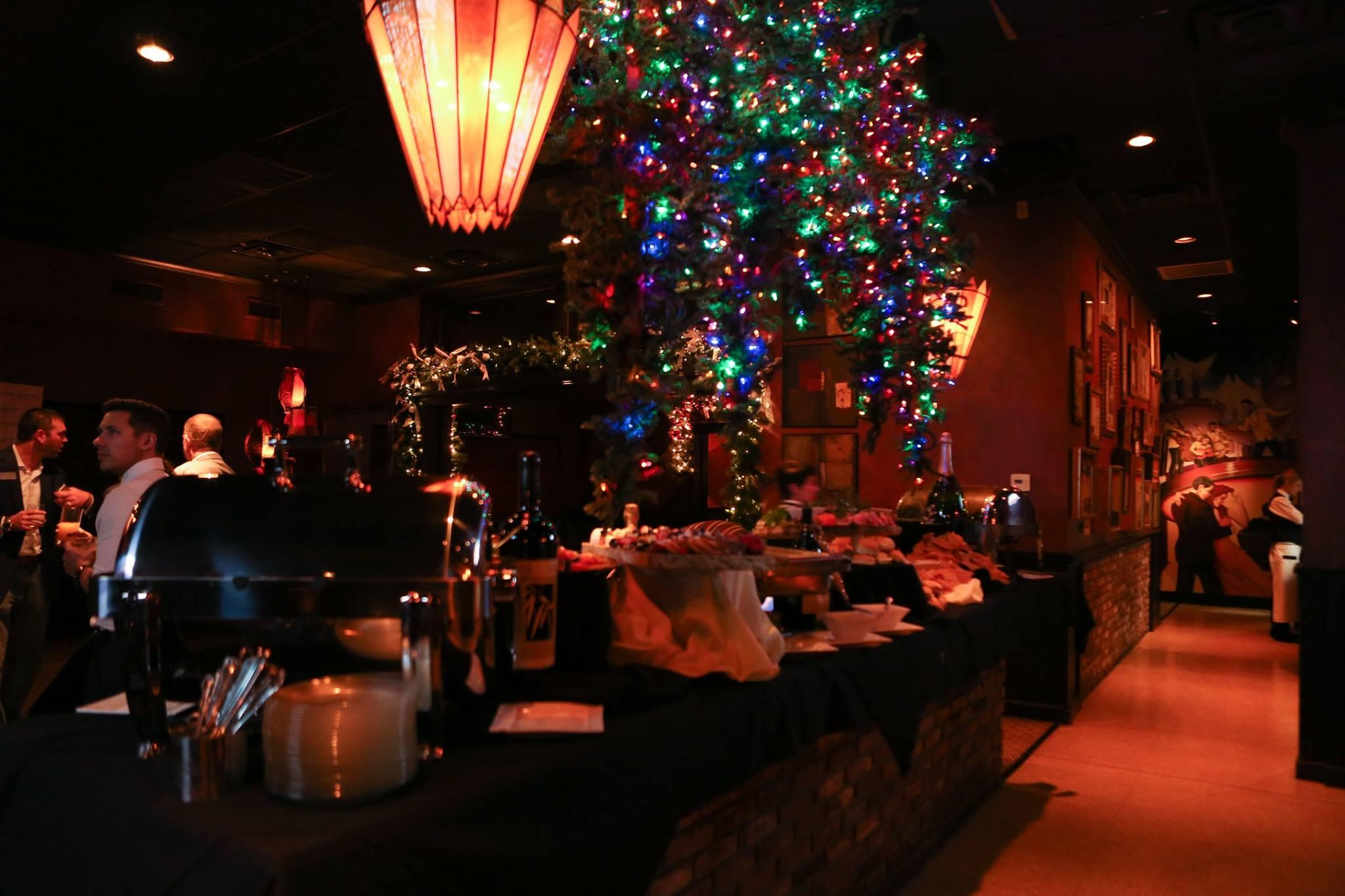 Holiday party at The Martini Lounge OKC.